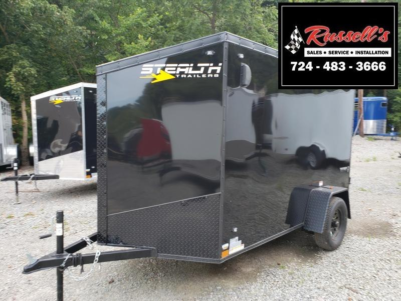 2020 Stealth Trailers 6x10 Ramp Door Titan Enclosed Cargo Trailer