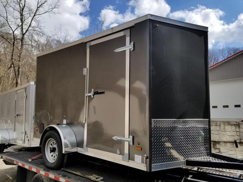 2019 US Cargo ULAFT 6x10 Ramp Door Enclosed Cargo Trailer