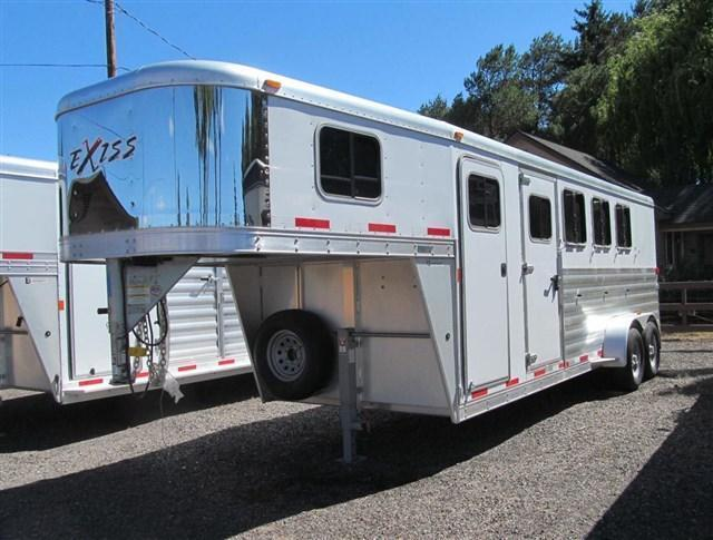 "2016 Exiss 6400 - 7' Tall - 6'8"" Wide Horse Trailer"