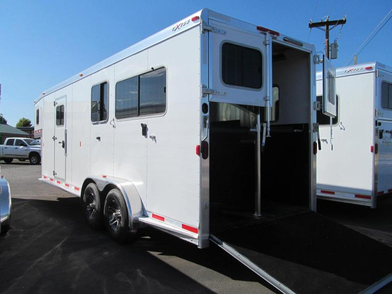2018 Exiss Trailers 7200 SR 2+  1 Horse Trailer