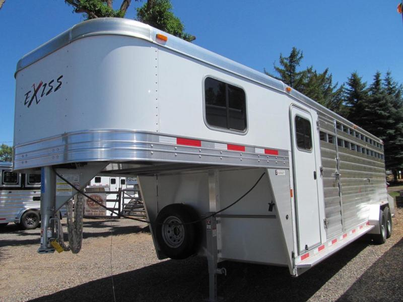 2017 Exiss Trailers 7024 STC Livestock Trailer