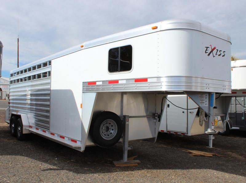 2018 Exiss Trailers 7022 STC Livestock Trailer