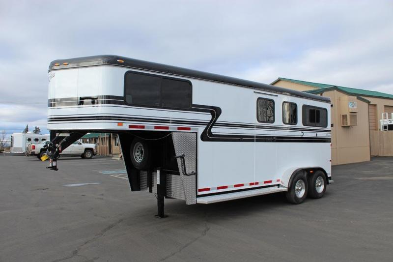 2018 Hawk Trailers Classic Elite GN Horse Trailer