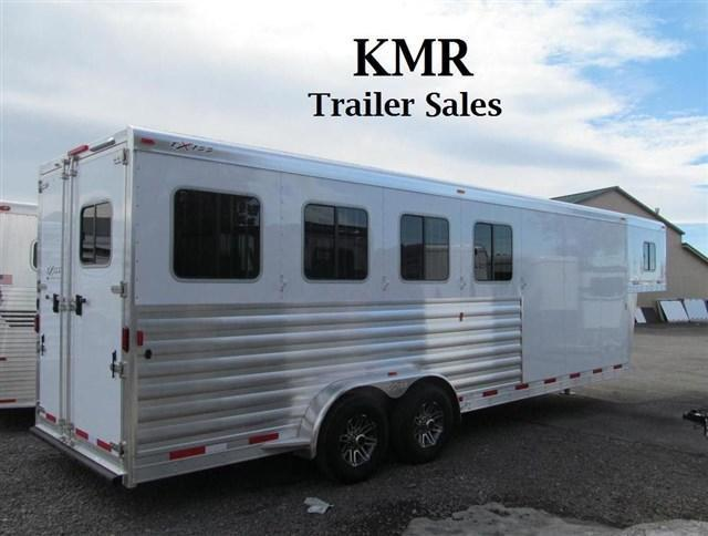 2017 Exiss Custom 7400 Horse Trailer - Warmblood Size