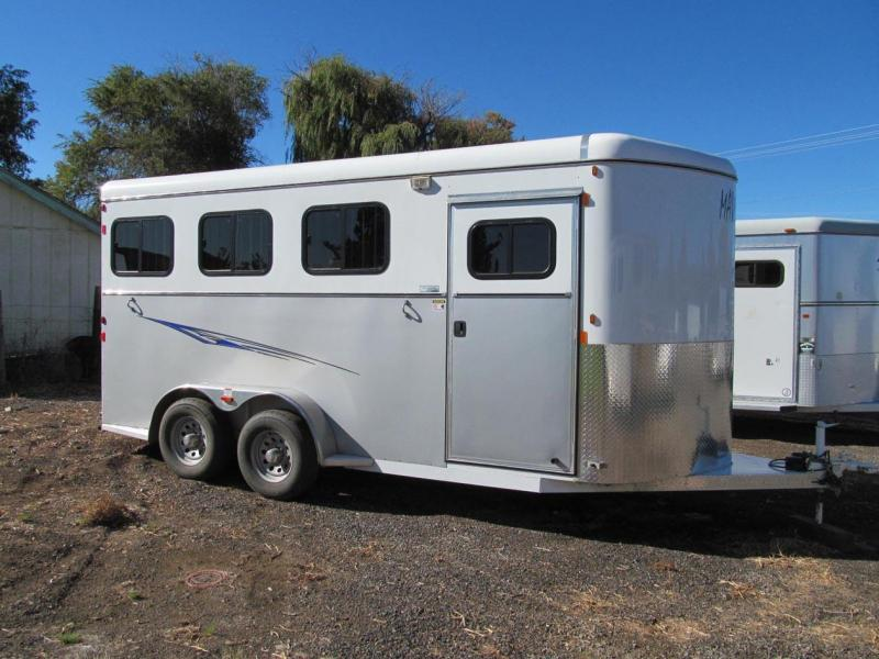 2015 Maverick 3 Horse Bumper Pull Horse Trailer