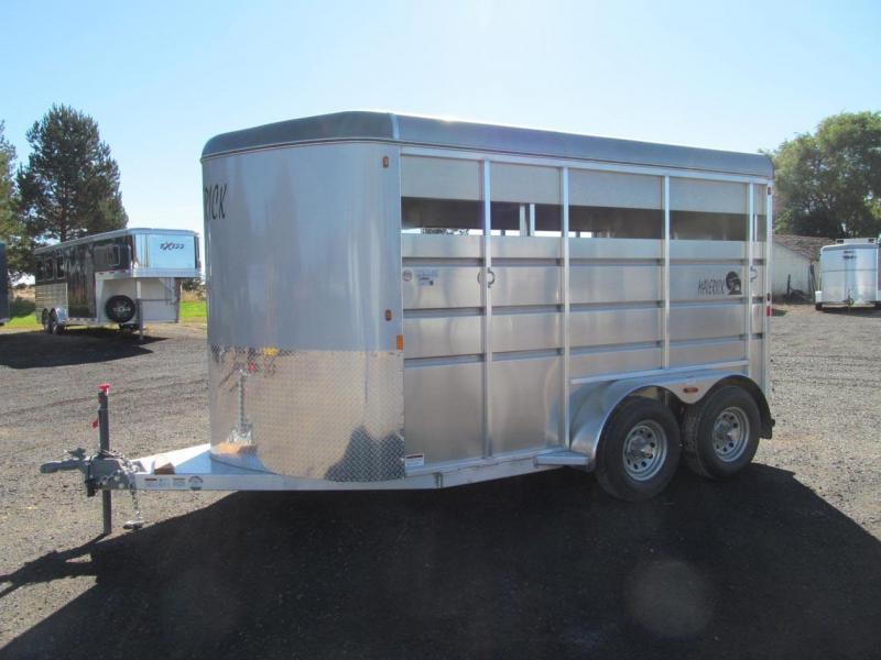 2018 Maverick Mav Lite Aluminum Horse Trailer