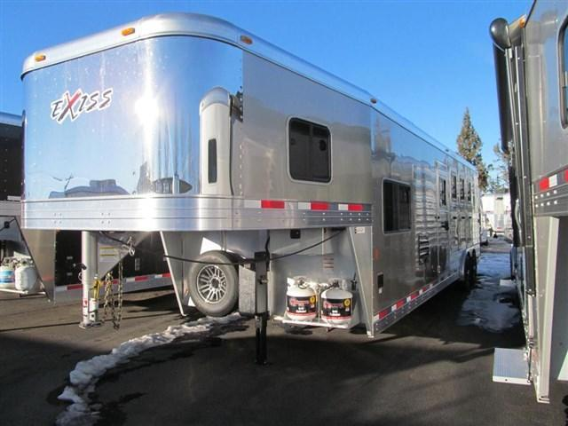2017 Exiss 8410 Endeavor Horse Trailer