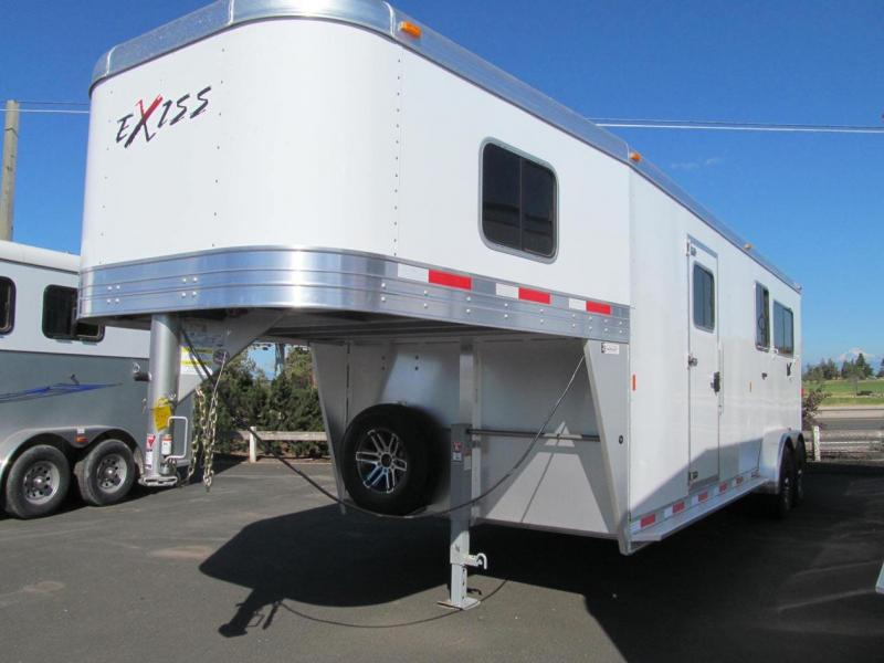 2018 Exiss Trailers 7200 SR 2 + 1 Horse Trailer