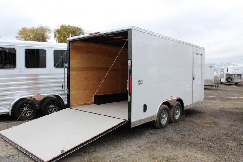 2018 Snake River Big 10 8x16 Enclosed Cargo Trailer