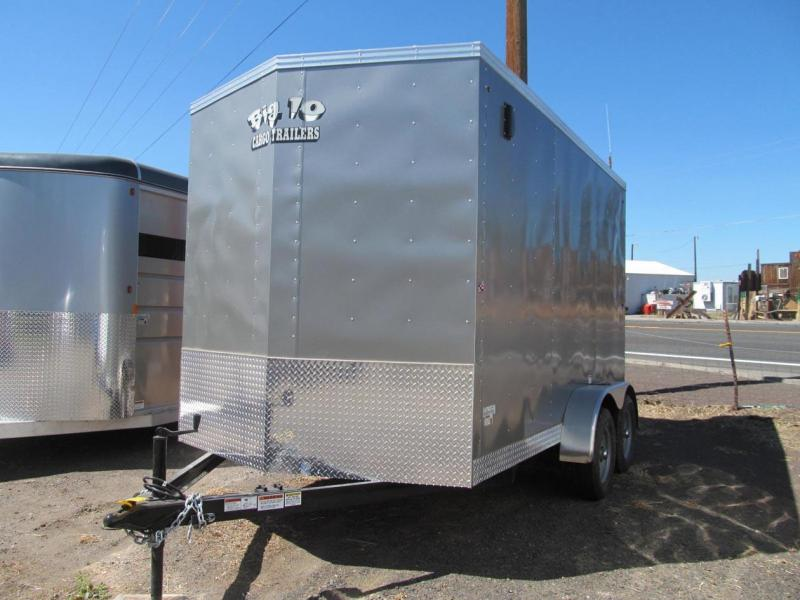 2018 Snake River Big 10 - 7x12 Enclosed Cargo Trailer