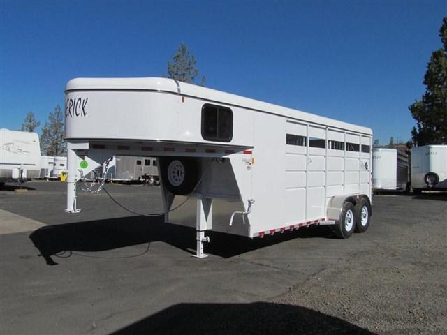 2017 Maverck Steel High Side GN Horse Trailer