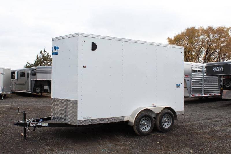 2018 Snake River Big 10 7x12 Enclosed Cargo Trailer