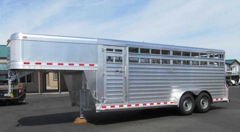 2017 Elite Trailers 20 Stock Livestock Trailer
