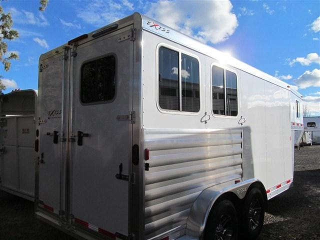 2017 Exiss 7200 GN - Front and Rear Tack Horse Trailer