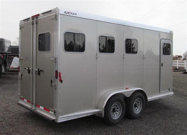 2016 Exiss 730B - X-Tall - Front and Rear Tack Horse Trailer