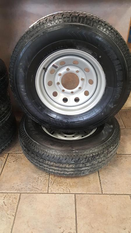 ST235/85R16 Radial Tire and Gray Wheel