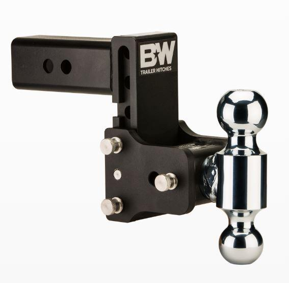 "B&W Hitches. Tow & Stow. 2.5"" Shank. Black Hitch"