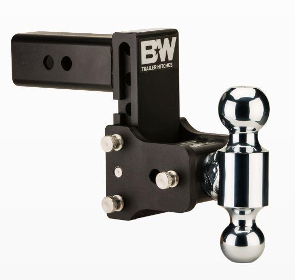 "B&W Hitches. Tow & Stow. 2"" Shank. Black Hitch"