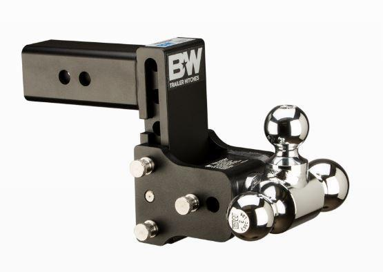 "B&W Hitches. Tow & Stow 2.5"" Shank. Black Hitch"