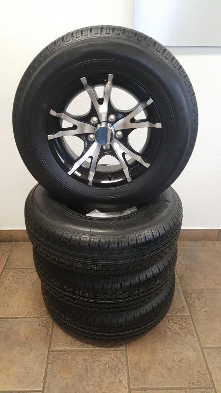205/75/R15 Mag Aluminum Rim & Radial Tire