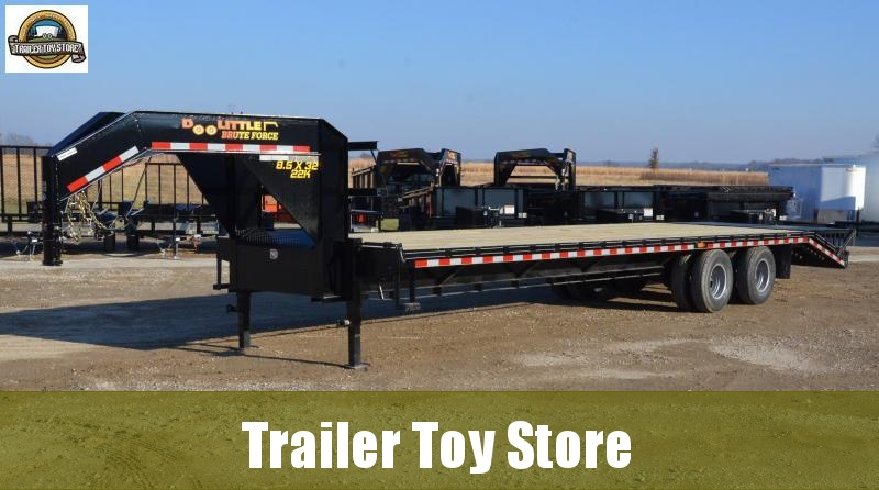 2019 Doolittle Bruteforce Gooseneck Trailer. 27+5