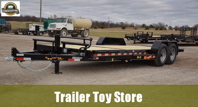 2019 Doolittle 8222 EZ Loader Equipment Trailer. 16+6