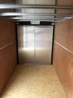2020 H and H Trailers 7'x14' Cargo White Flat Top V-Nose Tandem Axle