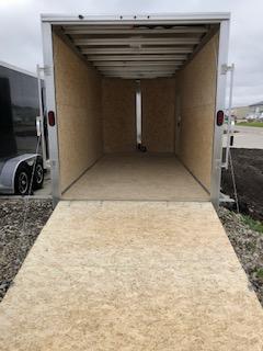 2019 CargoPro All Aluminum 7'x16' Flat Top V-Nose Enclosed Cargo Trailer