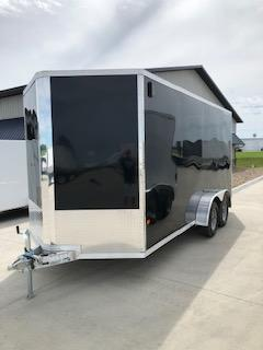 2019 CargoPro All Aluminum 7X16 Flat Top V-Nose Enclosed Cargo Trailer