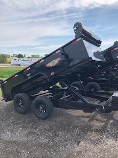 "2020 H and H Trailers 76""x 12' 5.2k Tandem Utility Dump Trailer"