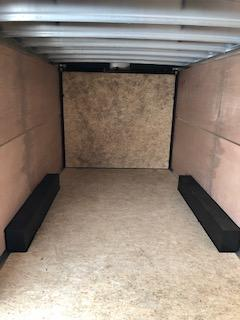 """2020 H and H Trailers 101""""x 20' Charcoal Enclosed V-Nose 5.2k Tandem Axle Car Hauler"""