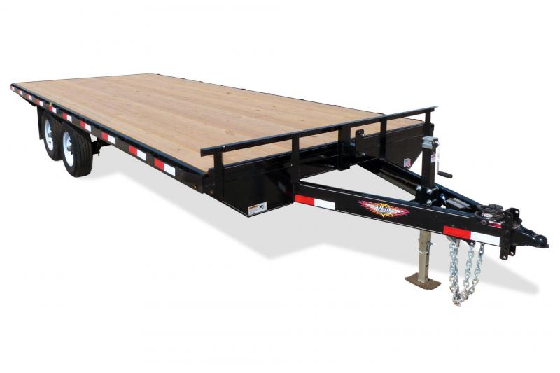 "2020 H and H 102""x18' Deckover Equipment Trailer"