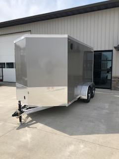 2019 Legend All Aluminum 7'x12'+2' V-Nose Enclosed Cargo Trailer