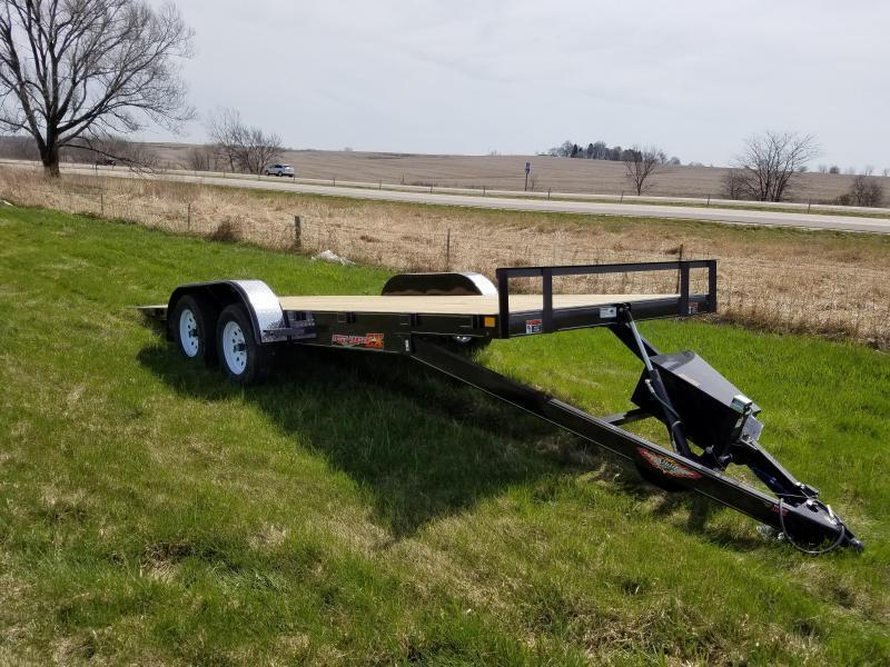 "2019 H and H Trailers 82""x20' EX Speedloader with 5.2k Tandem Axles"