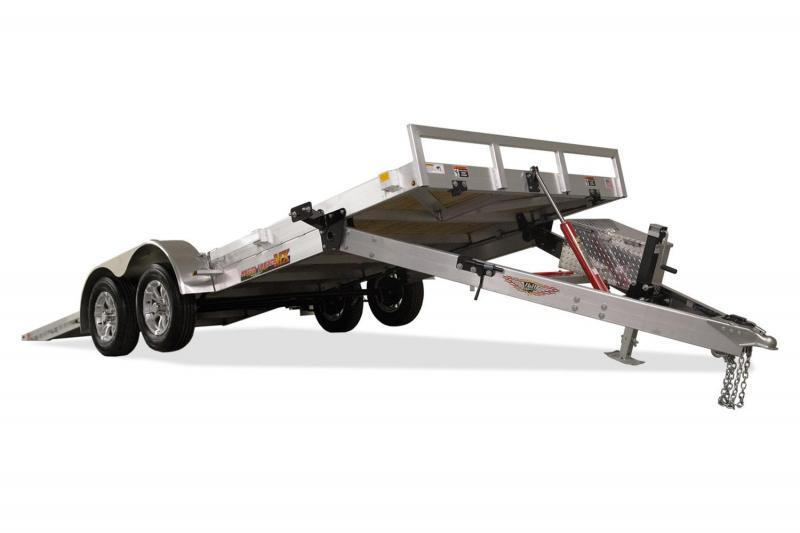 "2020 H and H Trailers 82""x20' Aluminum MX Speedloader Manual Tandem Tiltbed"