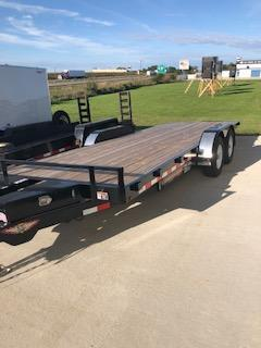 """2020 H and H Trailers 82""""x20' EX Speedloader with 5.2k Tandem Axles"""