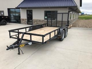 2019 Road Boss 76x14 USED Road Boss Tandem Axle Utility Trailer