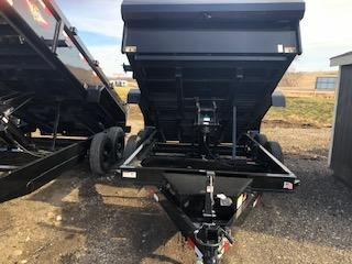 "2020 H and H Trailers 83""x12'  Dump Box Trailer"