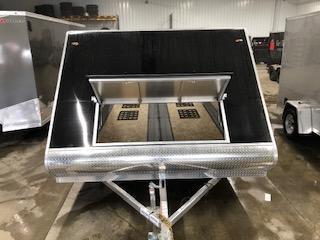 "2020 Legend Manufacturing 101""x13' Black Enclosed Hybrid Snowmobile Trailer"