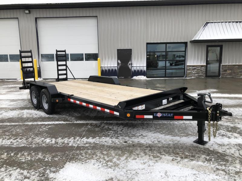 "2020 Norstar/Iron Bull 83""x20'  14K Equipment Trailer"