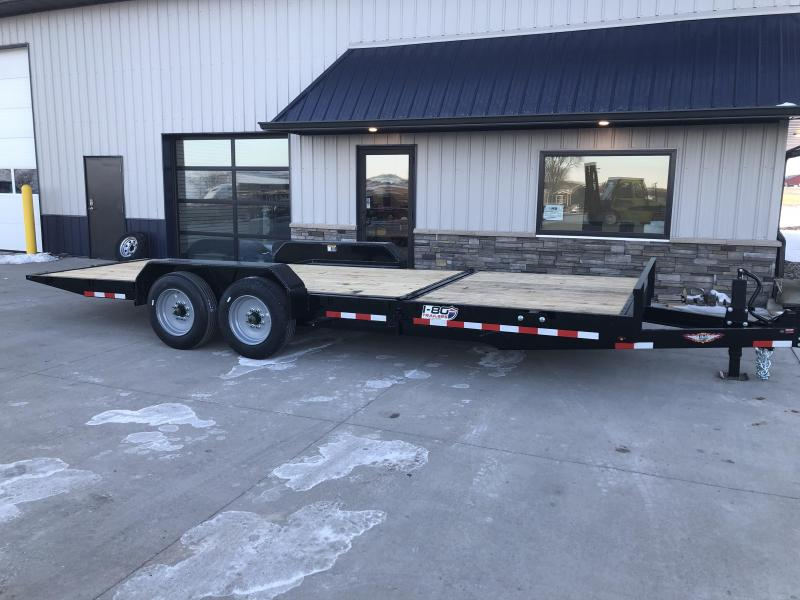 2020 H and H Trailers 8.5'x16'+6' Gravity Tilt With 6' Stationary Deck