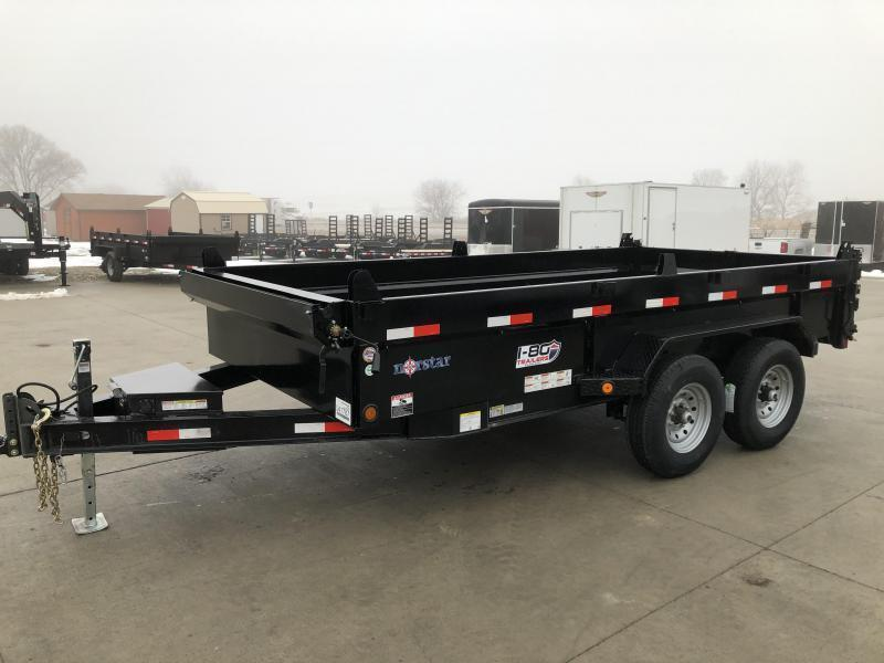 "2020 Norstar/Iron Bull 83""x14' Dump Trailer with 7k Axles"