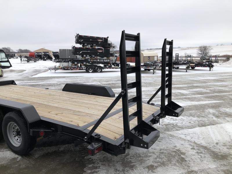 "2020 Norstar/Iron Bull 83""x20'  14K Equipment Trailer"