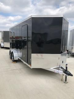 2019 Legend All Aluminum  7'x16'+2' V-Nose Enclosed Cargo Trailer