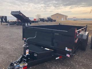 """2020 H and H Trailers 83""""x14'  Dump Box Trailer"""