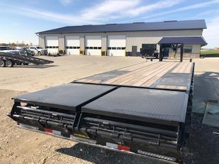 2020 H and H 25'+5' Gooseneck Lo Pro Deckover Super Deluxe Ramps