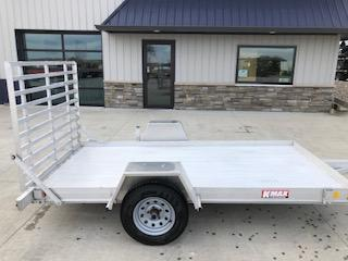 USED 2013 Keifer Built 5'x10' Aluminum Utility Trailer