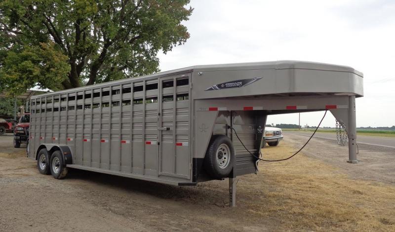 2019 Titan 6'8 x 24' Standard Livestock Trailer