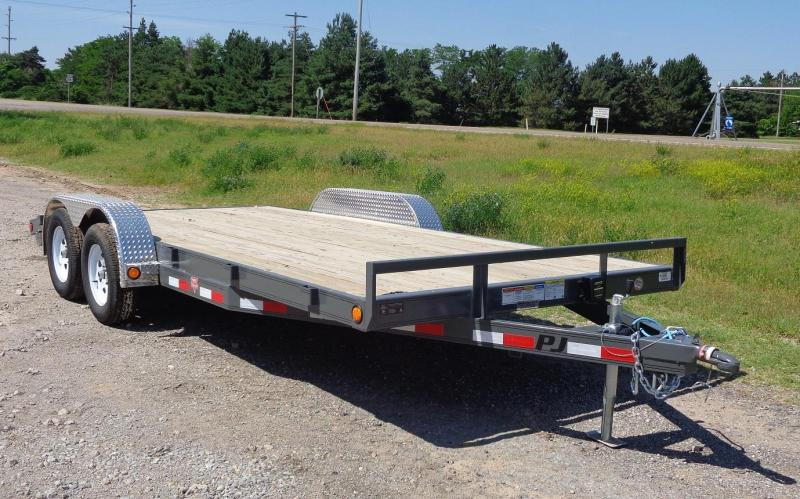 2019 PJ 18' x 5 in. Channel Carhauler
