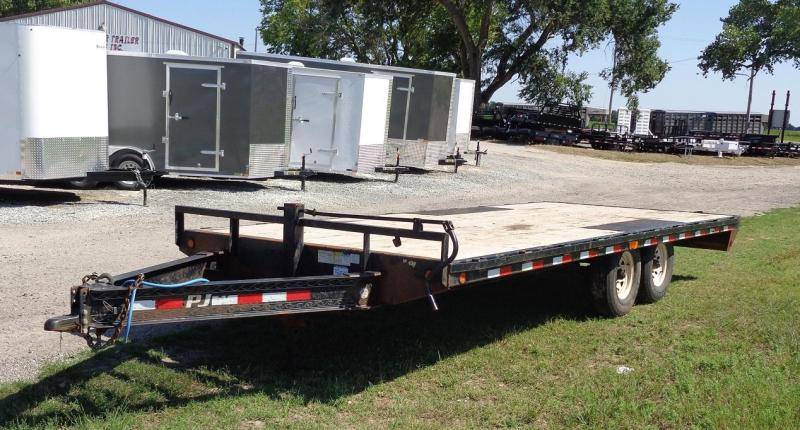 "2012 PJ Trailers 102"" x 20' 8 in. I-Beam Deckover (F8) Flatbed Trailer"